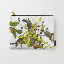 Blackpoll Warbler Bird Carry-All Pouch