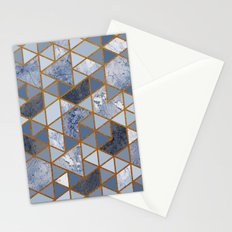 Abstract marble Stationery Cards