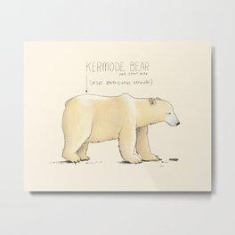 Kermode Bear Metal Print