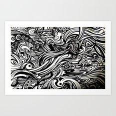 REM 4 Art Print
