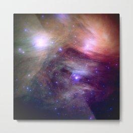 Galaxy : Pleiades Star Cluster NeBula Metal Print