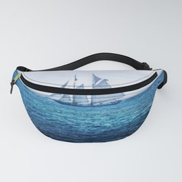 Sailing Ship on the Sea Fanny Pack
