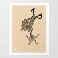 Ovaroom Art Print