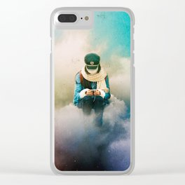 Escapism Clear iPhone Case