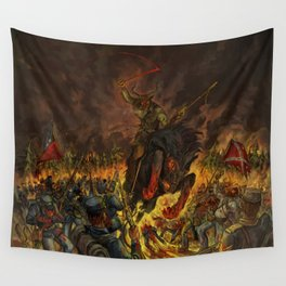 Karma To Burn - Arch Stanton Wall Tapestry