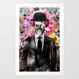 Skeleton Swag by GEN Z Art Print