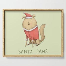 Santa Paws Serving Tray