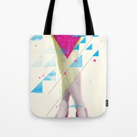 legs Tote Bags featuring Legs by Guilherme Rosa // Velvia