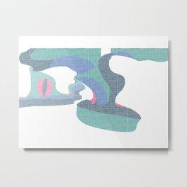Unstaged 3 Metal Print