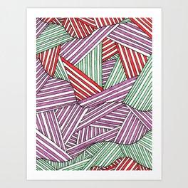 fibers (3) Art Print