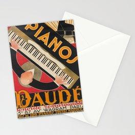 retro pianos daudé. 1926  Stationery Cards
