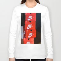 nike Long Sleeve T-shirts featuring Nike by I Love Decor
