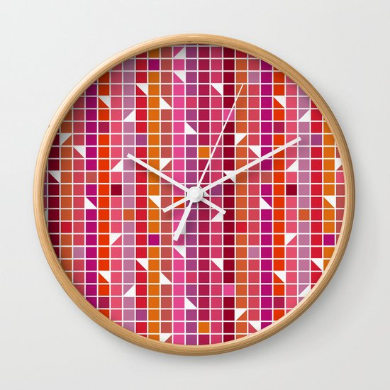 Quadrille Wall Clock