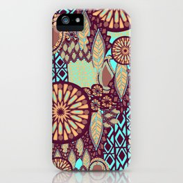 Tribal Patchwork iPhone Case