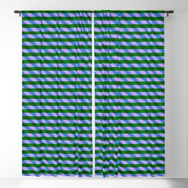 Color_Stripe_2019_002 Blackout Curtain
