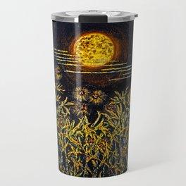 I Look up at the Moon Travel Mug