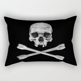 Jolly Roger Banner Rectangular Pillow