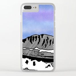 Mount Olympus Clear iPhone Case