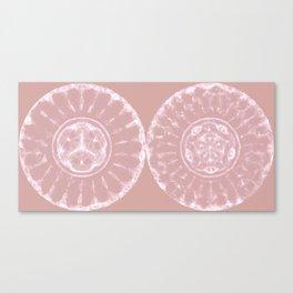 Woo Woo Vol. 2 - Cymatic Diptych Canvas Print