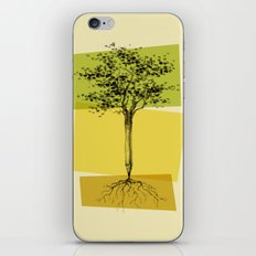 Ideas Don't Grow On Trees iPhone & iPod Skin