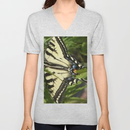 Swallowtail butterfly Unisex V-Neck
