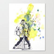 Elvis Presley Dancing Canvas Print