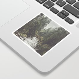 Mountain creek - Landscape and Nature Photography Sticker