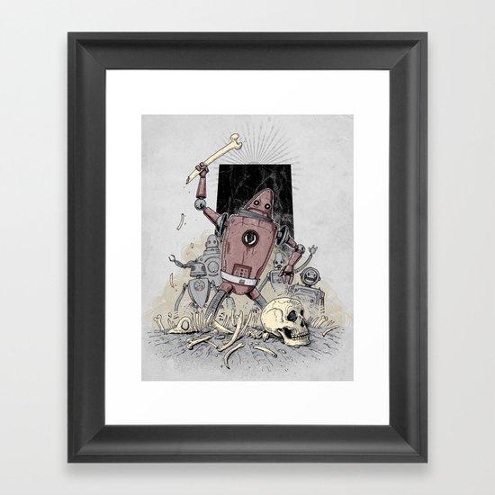 The Dusk of Man Framed Art Print