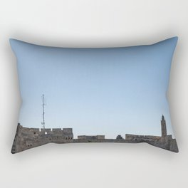 Tower of David Rectangular Pillow