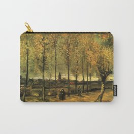 Lane with Poplars, Vincent van Gogh Carry-All Pouch