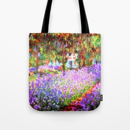 Monets Garden in Giverny Tote Bag