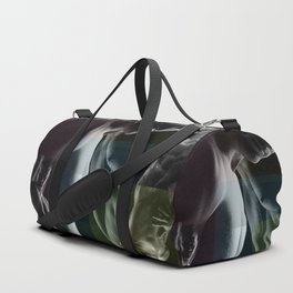 Benday Moiré Maybe Gay Duffle Bag