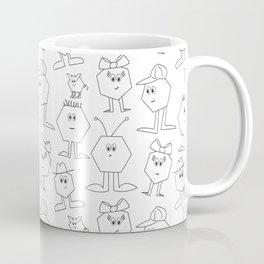 Hex Dudes and Gals Coffee Mug