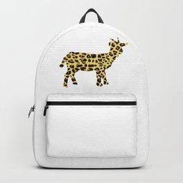 Cheetah goat Backpack