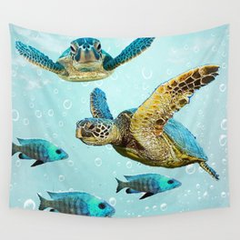 Sea Turtles Wall Tapestry