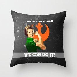 Join the Rebellion Throw Pillow