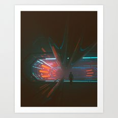 XEON.FUTURE (everyday 02.25.17) Art Print