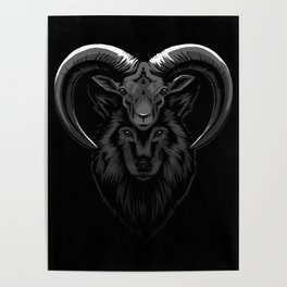 Wolf in sheep's clothes Poster