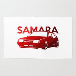 Lada Samara - classic red - Rug