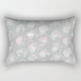 bubble foil negative Rectangular Pillow