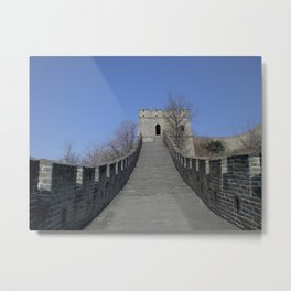 The Great Wall of China II Metal Print