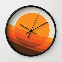 Rebirth Of The 70's No. 24 Wall Clock