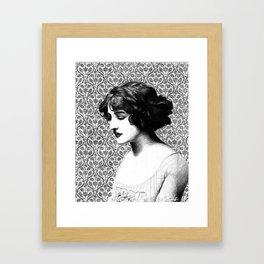 Miss Lily Elsie Framed Art Print