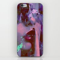 silent iPhone & iPod Skins featuring Keep silent by Ganech joe