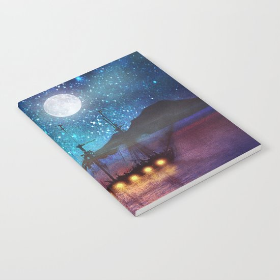 The lights and the Silent Water Notebook