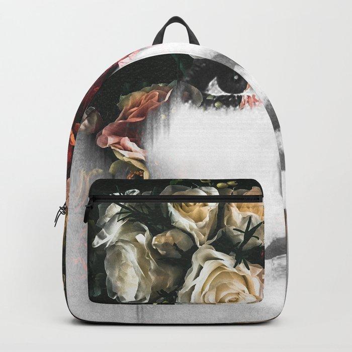 Floral Portrait Backpack