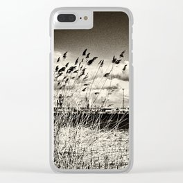 Spring Glow Clear iPhone Case