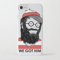 waldo iPhone & iPod Cases featuring We Got Him by Nikoby