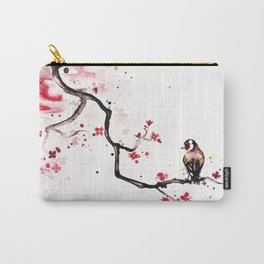 """The tiny wings """"The goldfinch"""" Carry-All Pouch"""
