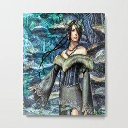 Lulu Final Fantasy 10 Metal Print